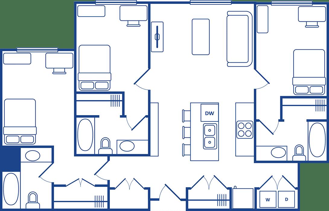 3 Bedroom Floorplan3