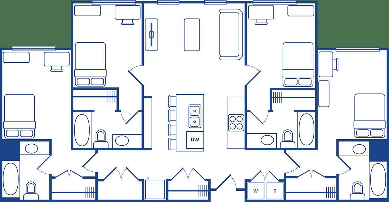 4 Bedroom Floorplan4