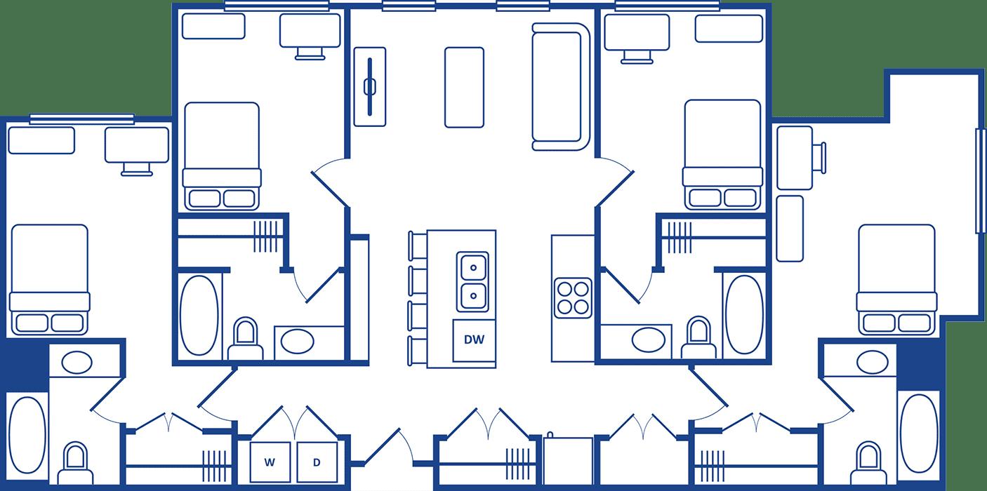 4 Bedroom Floorplan5